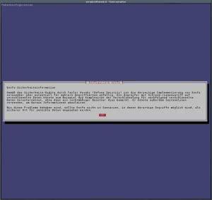encfs Warnung Debian Jessie