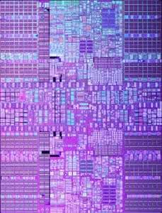 Die eines Power 6 Prozessoren von IBM