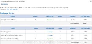 OVH Serverbestellung KS2G stand 26.09.2013