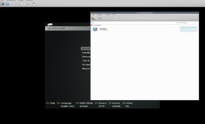 Virt-Manager die InstallationsCD von openSUSE startet