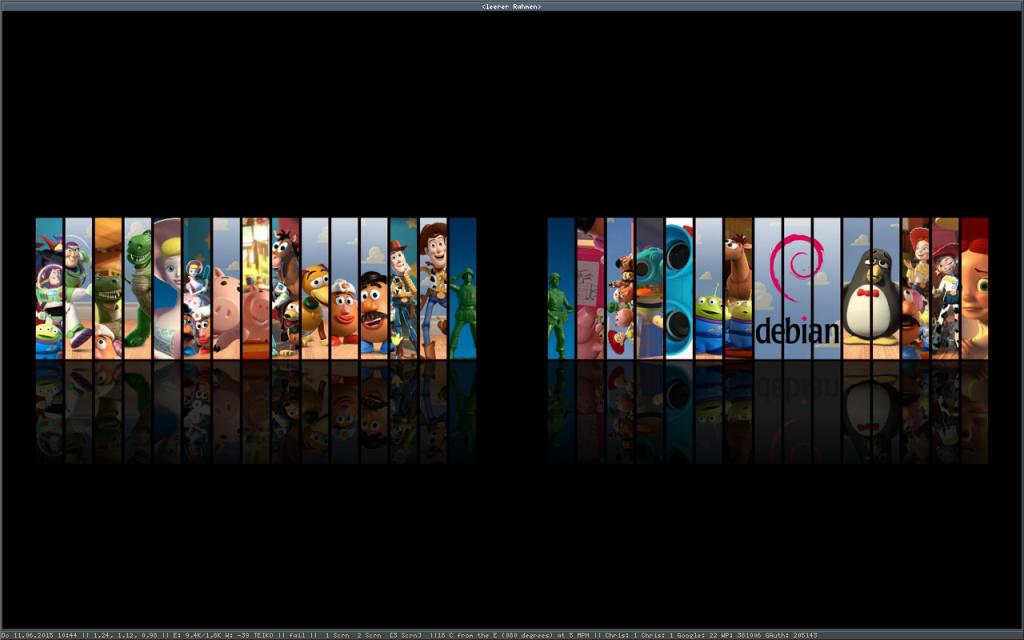 Screenshot des DellE6400 mit Notion am11062015