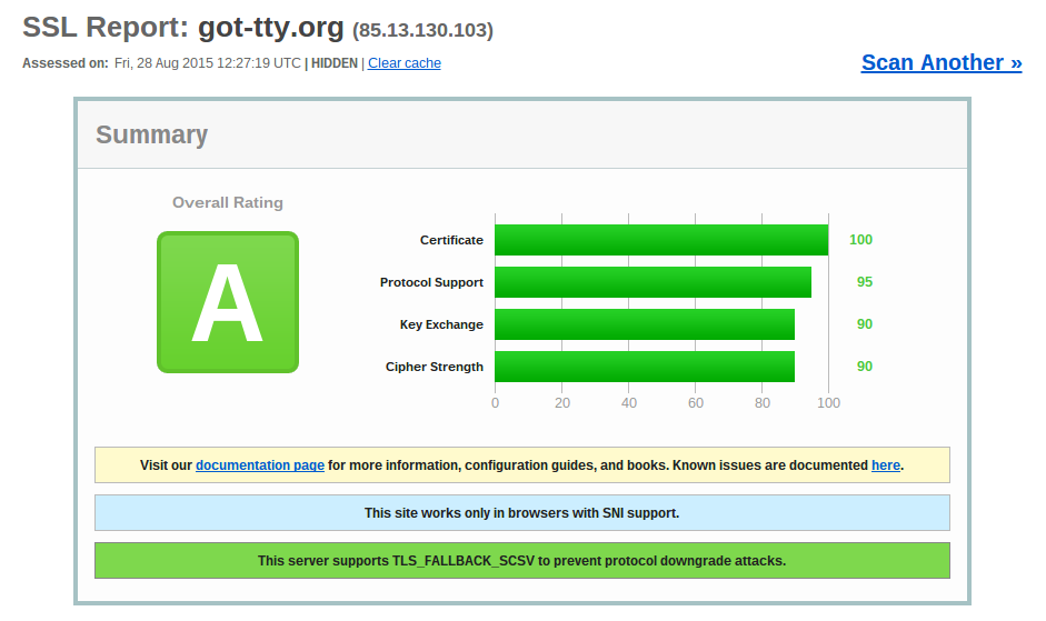 SSL Servertest für got_tty.org / ssllabs.com