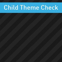 Child Theme Check