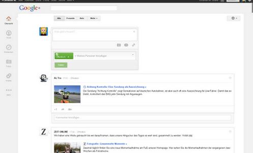 Google+ Opera user.css für mehr Ruhe