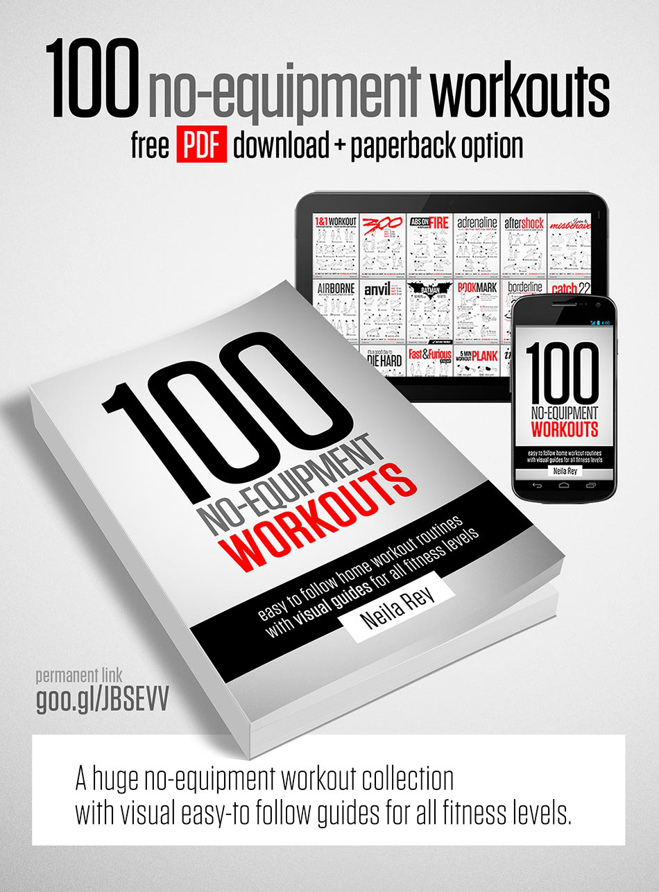 Linktip: Neila Rey 100 no Equipment Workouts PDF