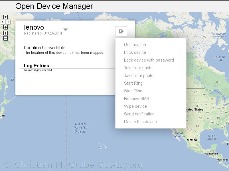 Der eigene Open Device Manager für Android