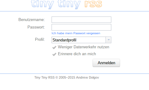 TinytinyRSS und SELinux unter CentOS