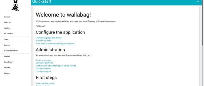 Installation von Wallabag auf Debian Jessie