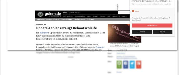 Installation Unmark und der Plugins für Firefox und Chrome