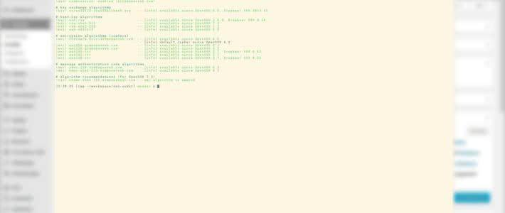 Grundlage für eine sichere sshd_config