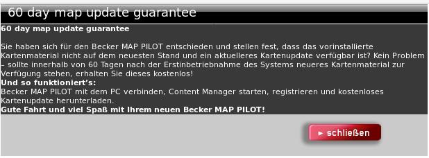 Mercedes Junge Sterne und das GPS Becker Map Pilot - Got tty