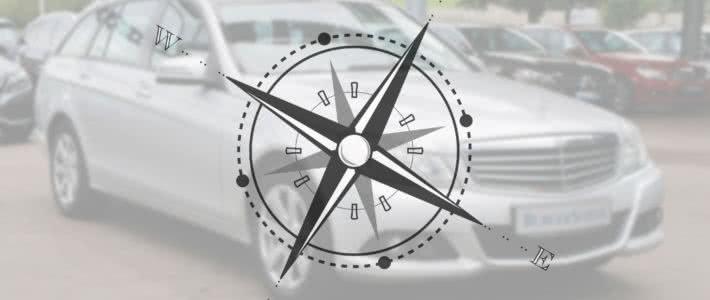 Mercedes Junge Sterne und das GPS Becker Map Pilot