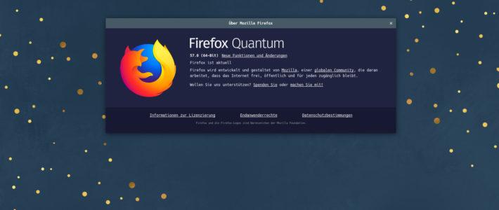 Firefox Quantum Neue Erweiterungen und meine userChrome.css