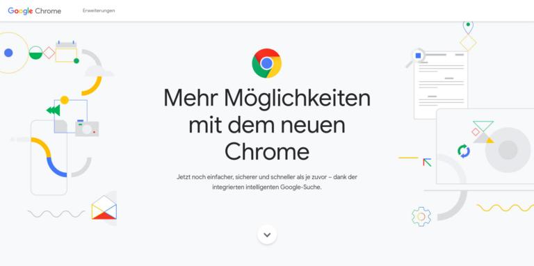 Mehr Möglichkeiten mit dem neuen Chrome Screenshot ©Google
