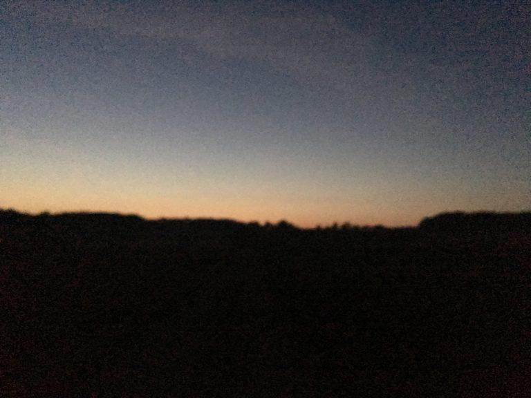Morgendliche schwäbische Alb