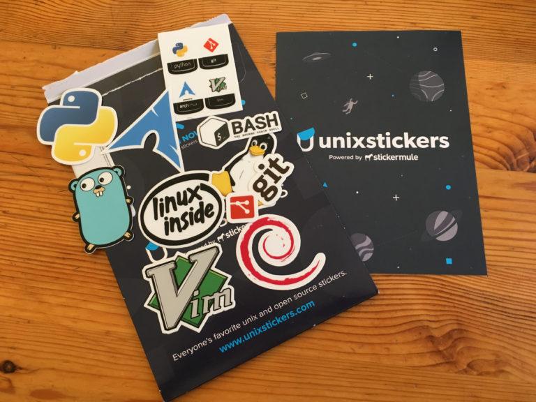 Unixstickers Pro Pack für 1€ von unixstickers.com